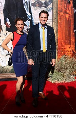 LOS ANGELES - JUN 22:  Sam Jaeger arrives at the World Premiere of
