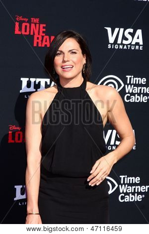 LOS ANGELES - JUN 22:  Lana Parrilla  at the World Premiere of