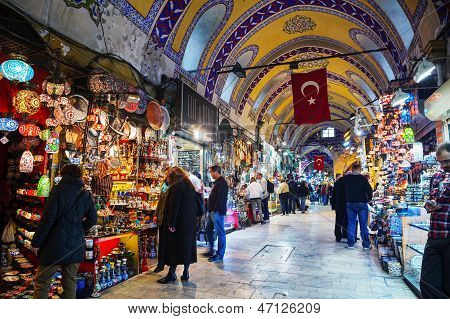 Basar In Istanbul-Interieur