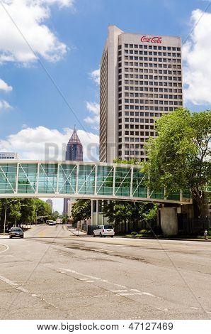 ATLANTA, JUNE 22: Coca-Cola's international headquarters on North Avenue in Atlanta on June 22, 2013