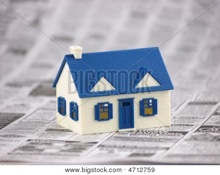 House Foreclosed In Newspaper
