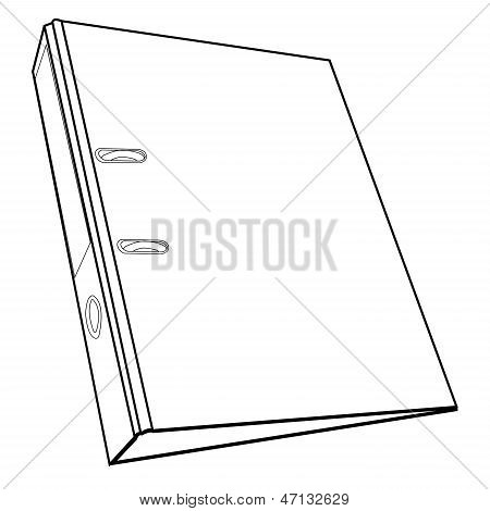 Document File Folder Outline Vector.eps