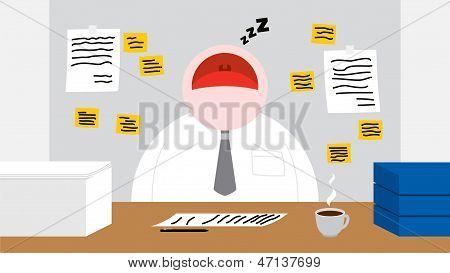 Sleep At Office