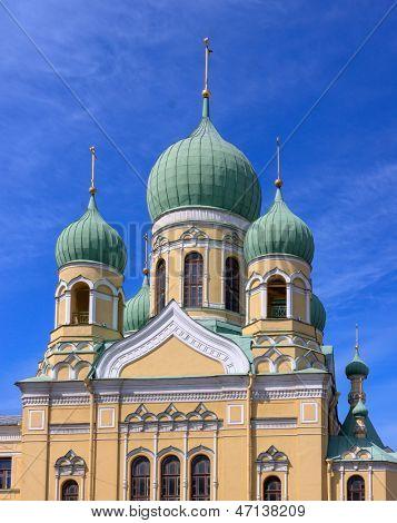 Russian Orthodox Church in St. Petersburg