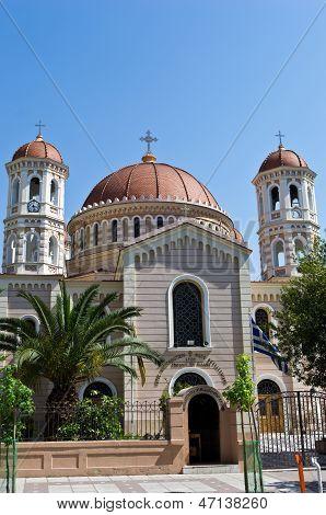 Igreja em Tessalônica, Macedônia, Grécia