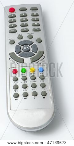 Digital media receiver Remote control from front