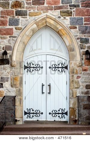 Arched Church Doorway