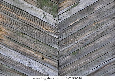 Espinha de peixe padrão das pranchas de madeira.