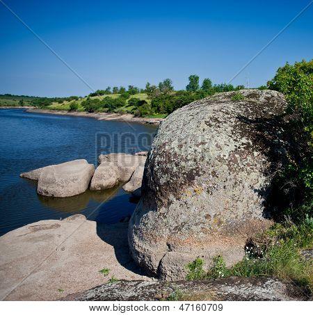 Water, Stones, Sky