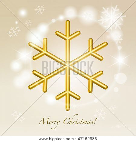 Christmas Greetings Background Illustration
