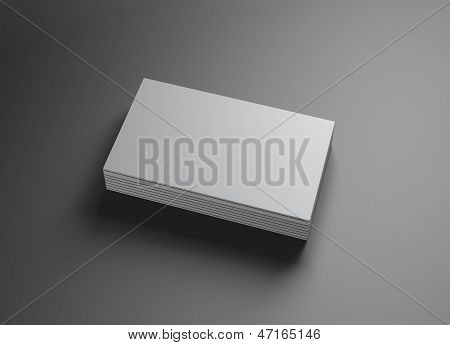 Set Of Namecards Horizontal Right