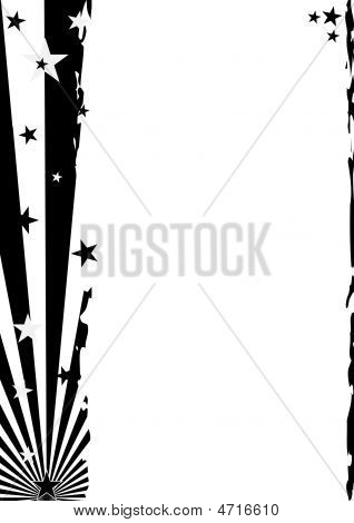 Grunge Star Background