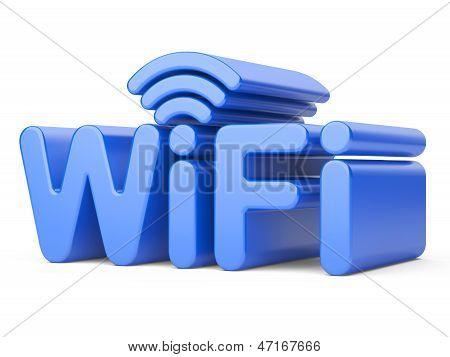 Wireless Network Symbol - Wifi