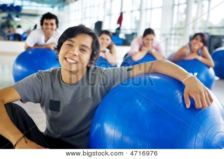 Gym Man Portrait