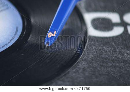 Blue Dj Needle