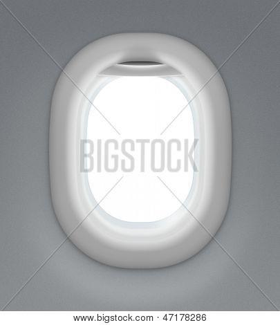 jet interior window