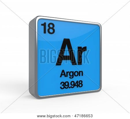 Argon Element Periodic Table