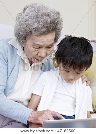 Grandma And Grandson