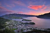 foto of luge  - View of Queenstown - JPG