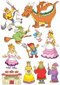 image of dwarf  - funny fairy set - JPG