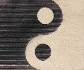 picture of ying-yang  - Yin - JPG