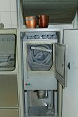 picture of crematory  - the bone grinding industrial equipment in crematorium - JPG