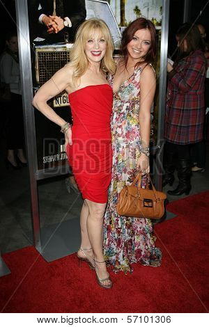 Frances Fisher with Daughter Francesca Eastwood at