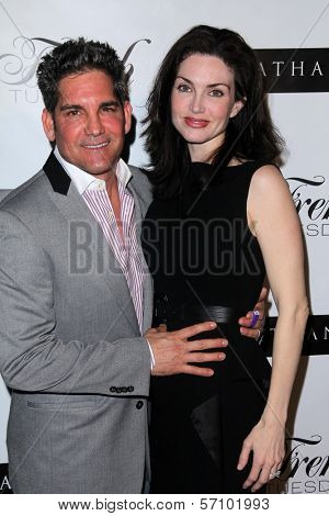 Grant Cardone, Elena Lyons Cardone  at the Nathanaelle Fashion Show, Skybar, West Hollywood, CA. 03-15-11