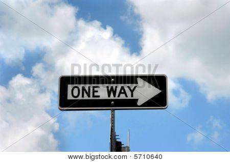 Arrow Points One Way