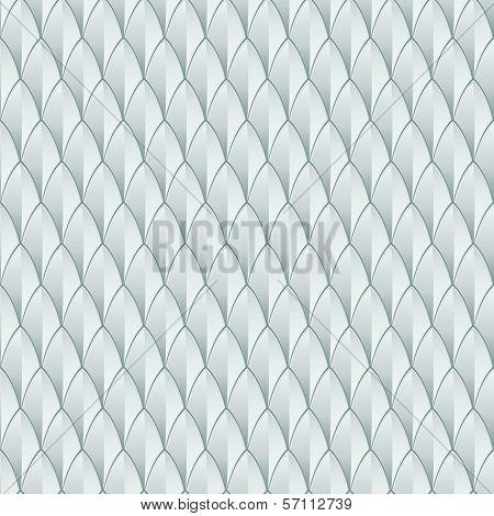 White Reptile Skin