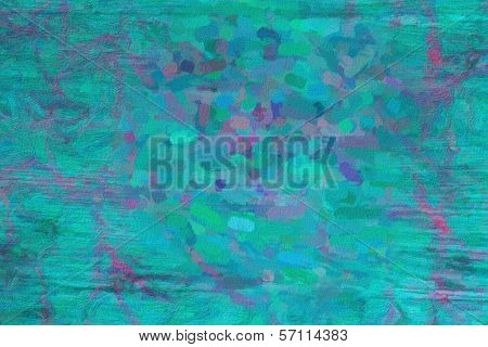 blue abstract impasto backgriund
