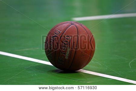 Close-up Basketball Ball