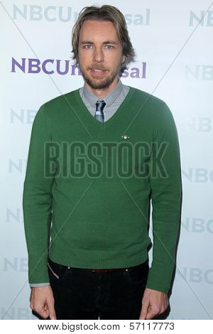 Dax Shepard at the NBCUNIVERSAL Press Tour All-Star Party, The Athenaeum, Pasadena, CA 01-06-12