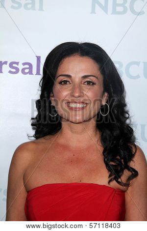 Jenni Pulos at the NBCUNIVERSAL Press Tour All-Star Party, The Athenaeum, Pasadena, CA 01-06-12