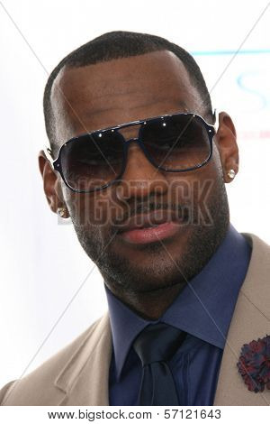 LeBron James at the 2011 T-Mobile NBA All-Star Game, Staples Center, Los Angeles, CA 02-20-11