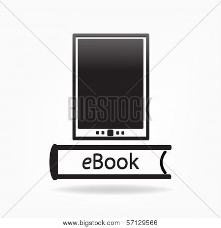 electronic book concept