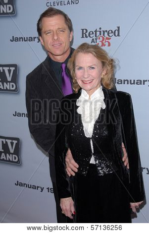 Maxwell Caulfield and Juliet Mills at the