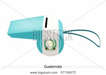 A Whistle Of The Republic Of Guatemala