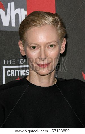 Tilda Swinton  at the 16th Annual Critics' Choice Movie Awards Arrivals, Hollywood Palladium, Hollywood, CA. 01-14-11