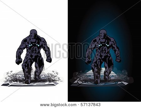 Walking Humanoid Monster