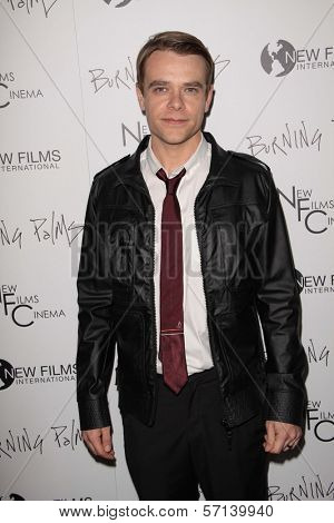 Nick Stahl at the
