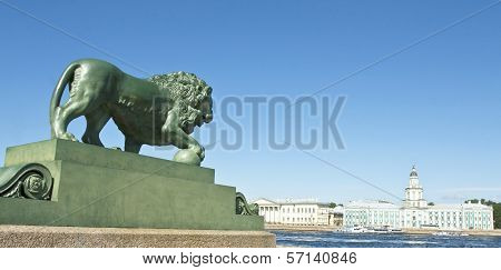 St. Petersburg, Sculpture Of Lion