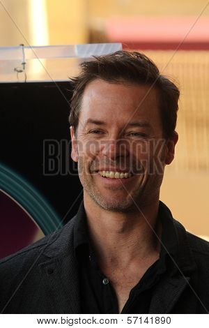 Guy Pearce  at the indiction ceremony for Colin Firth into the Hollywood Walk of Fame, Hollywood, CA. 01-13-11