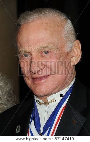 Buzz Aldrin at the 8th Annual Living Legends of Aviation, Beverly Hilton Hotel, Beverly Hills, CA. 01-21-11