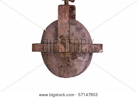 Old Wooden Hoist