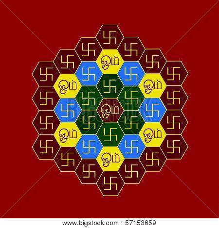 Om Hexagonal Chart