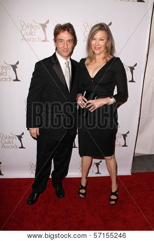 Martin Short and Catherine O'Hara  at the 2011 Writers Guild Awards, Renaissance Hotel, Hollywood, CA. 02-05-11