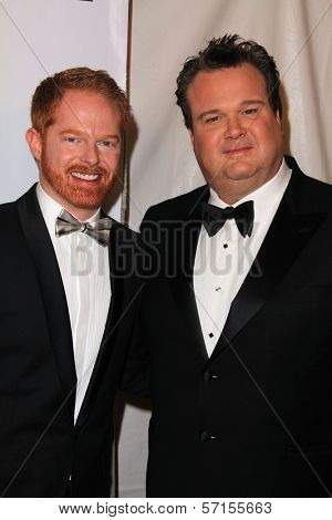 Jesse Tyler Ferguson and Eric Stonestreet at the 2011 Writers Guild Awards, Renaissance Hotel, Hollywood, CA. 02-05-11