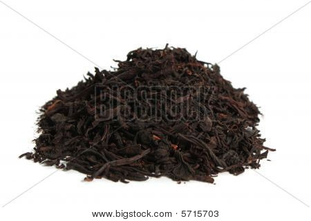 Dried Leaves Of A Currant And Raspberry