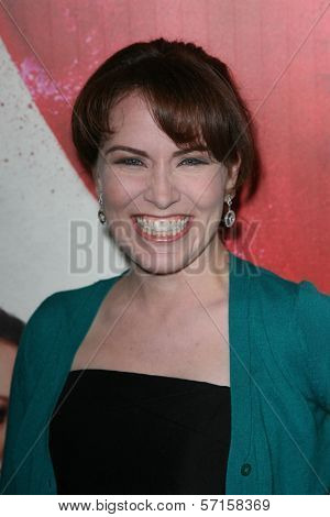 Crista Flanagan at the Premiere Of